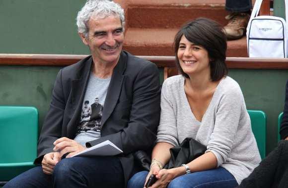 Raymond Domenech et Estelle Denis